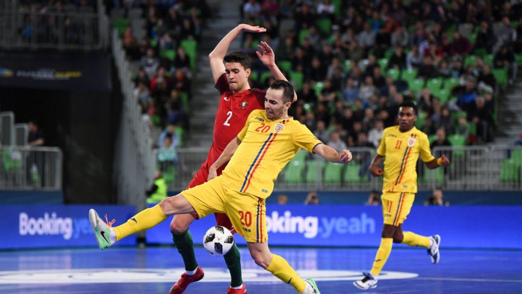 Portugal v Romania – UEFA Futsal EURO 2018