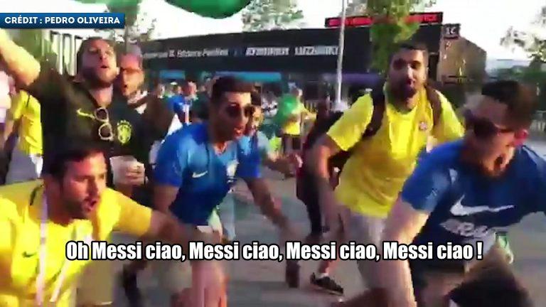 VIDEO | Fanii brazilieni sunt în extaz după eșecul Argentinei. Melodia care a devenit VIRALĂ