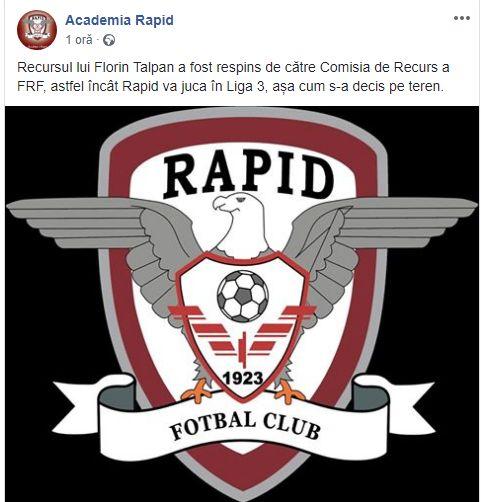 rapid facebook recurs