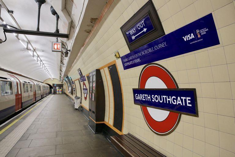 Urmează stația Gareth Southgate! O stație de metrou a primit numele selecționerului englez