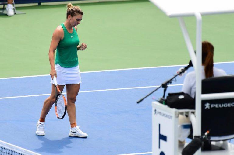 VIDEO | Simona Halep s-a calificat în semifinale la Cincinnati