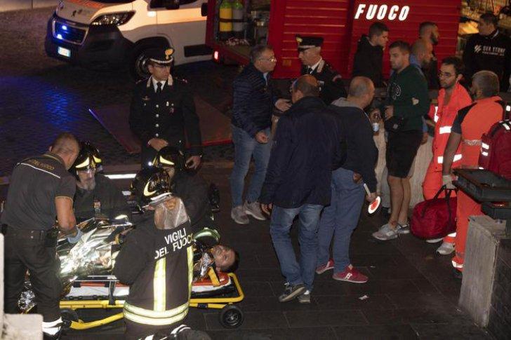 VIDEO | Cel puțin 30 de suporteri ai echipei ȚSKA Moscova au fost răniți la metroul din Roma