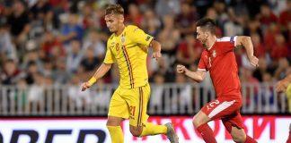 """Denis Drăguș a părăsit cantonamentul echipei naționale. Ce mesaj le-a transmis """"tricolorilor"""" U21"""