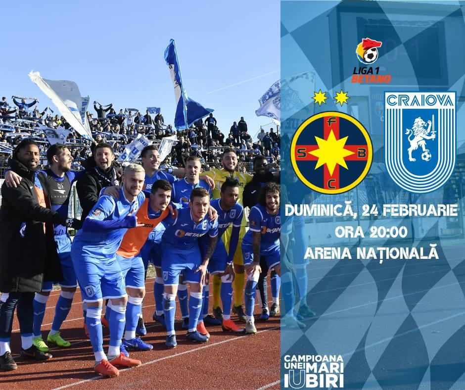Capitolul la care U Craiova o umilește pe FCSB. Cea mai ...   Craiova Fcsb