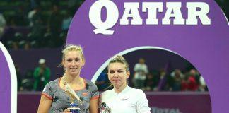 """Simona Halep a suferit enorm în finala de la Doha! """"Mi se blocau mușchii de la spate"""""""