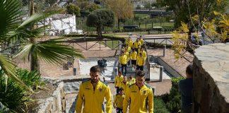 FOTO | Tricolorii mici au ieșit la plimbare înainte de meciul cu Danemarca