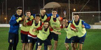 FOTO | Naționala de tineret a făcut primul antrenament în Spania