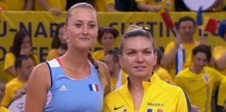 LIVE VIDEO BLOG | Halep – Mladenovic. Simona a luat primul set! România luptă pentru finala Fed Cup