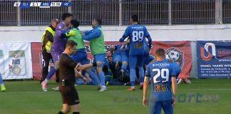 Clinceni a promovat matematic. Final dramatic în meciul cu FC Argeș