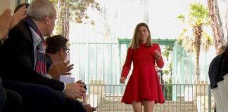 VIDEO | Simona Halep, apariție elegantă la Wuhan, la petrecerea jucătoarelor