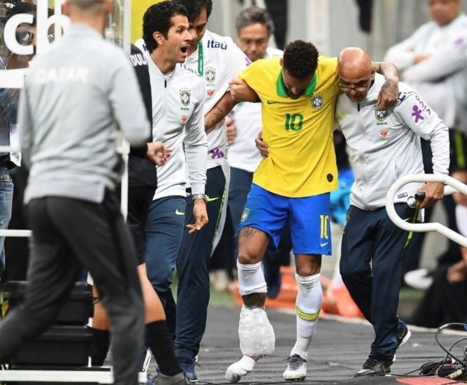 neymar accidentare