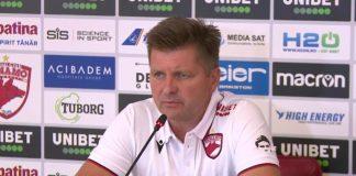 """Uhrin, uimit de situația de la Dinamo. """"Nu mi s-a mai întâmplat!"""""""