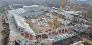 VIDEO | Cum arată acum stadioanele Steaua, Arcul de Triumf și Rapid. Stadiul lucrărilor