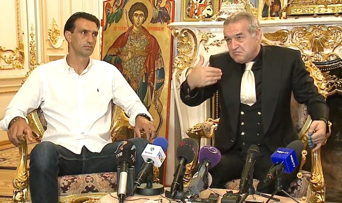 """Gigi Becali a luat decizia finală în ceea ce-l privește pe Vintilă: """"Nu va mai fi antrenor principal!"""""""