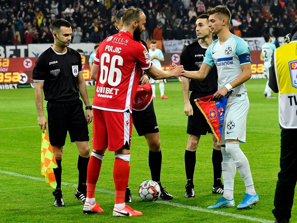 Dinamo FCSB Puljic Tanase capitani 1