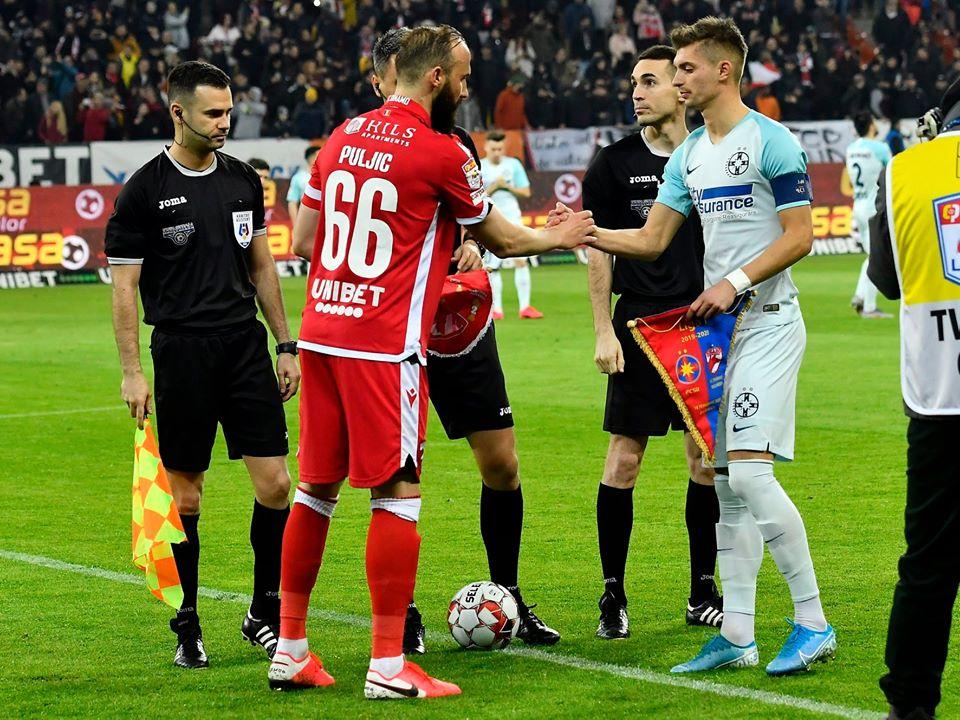 Dinamo FCSB Puljic Tanase capitani