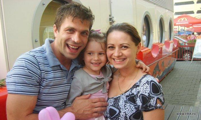 Ioan Teodorescu alaturi de familie