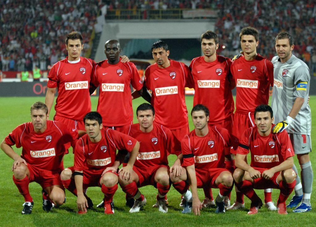 4.FOTBAL:DINAMO BUCURESTI-LAZIO ROMA 1-3,LIGA CAMPIONILOR (28.08.2007)