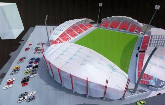 macheta stadion UTA