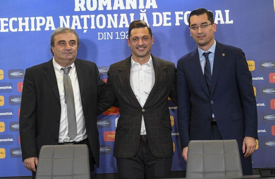 Mihai Stoichiță, Mirel Rădoi și Răzvan Burleanu