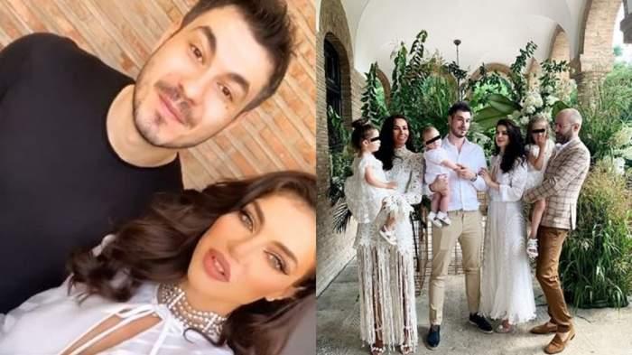 VIDEO | Fițe de regină! Șefa Instagramului și Pițurcă Jr și-au botezat fiul la palat
