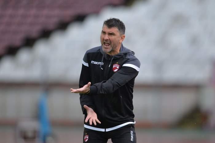 """Mihalcea, luat la întrebări după ce Dinamo a rămas pe loc de Liga 2: """"Ce cauți să vorbești de Rednic?"""""""