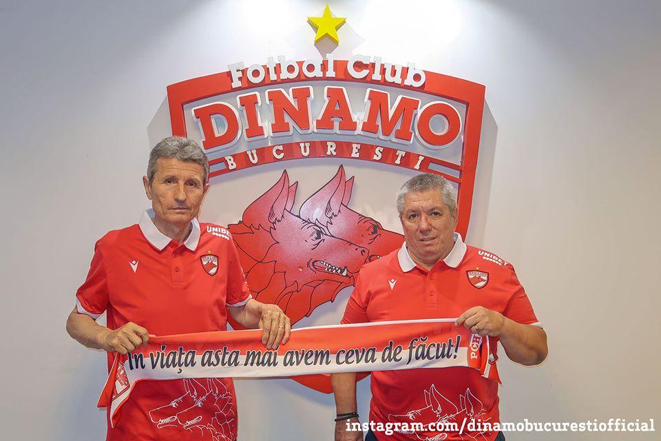 Gigi Mulțescu și Cornel Țălnar, Dinamo