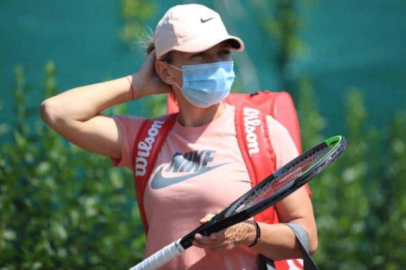 FOTO VIDEO | Simona Halep s-a obișnuit cu noile condiții pentru tenis! Primul antrenament la Praga
