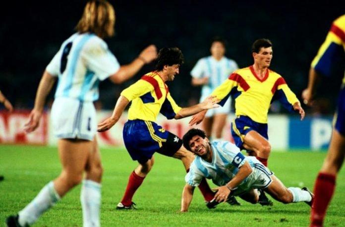 Maradona si Rotariu
