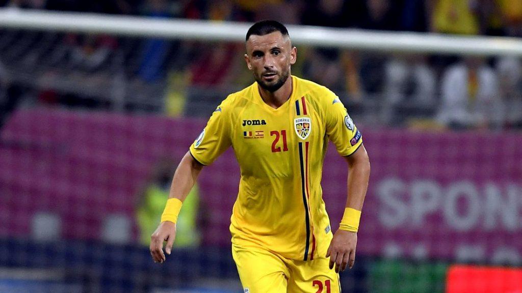 Dragoş Grigore în tricoul echipei naţionale
