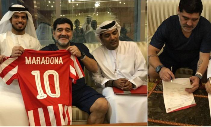 maradona emirate