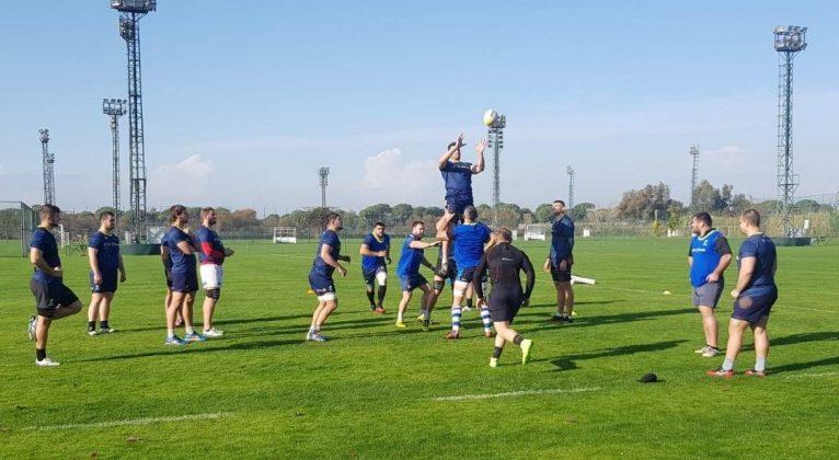 Antrenament nationala de rgby Antalya