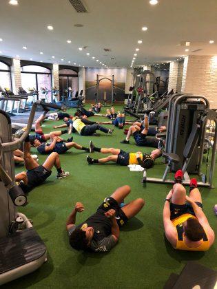 antrenament sala de forta antalya