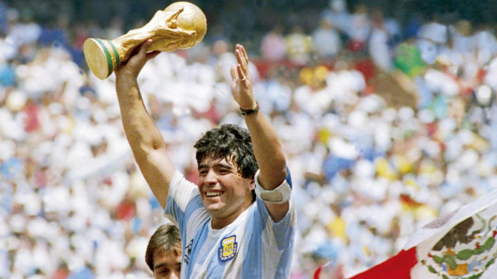 Diego Maradona – El Grafico Sports Archive