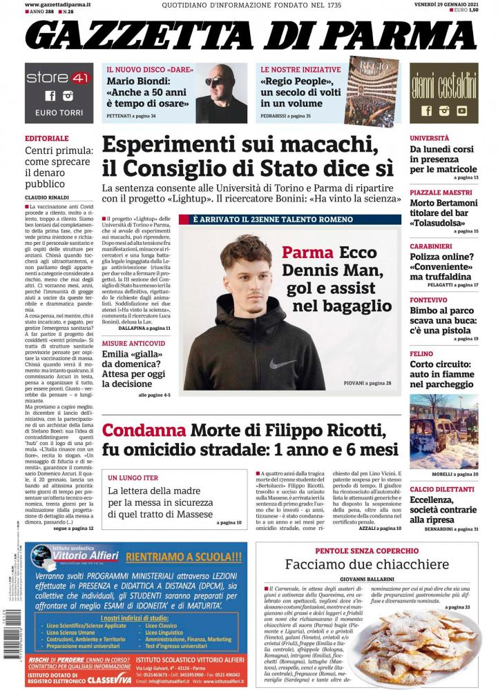 Dennis Man ziar Parma
