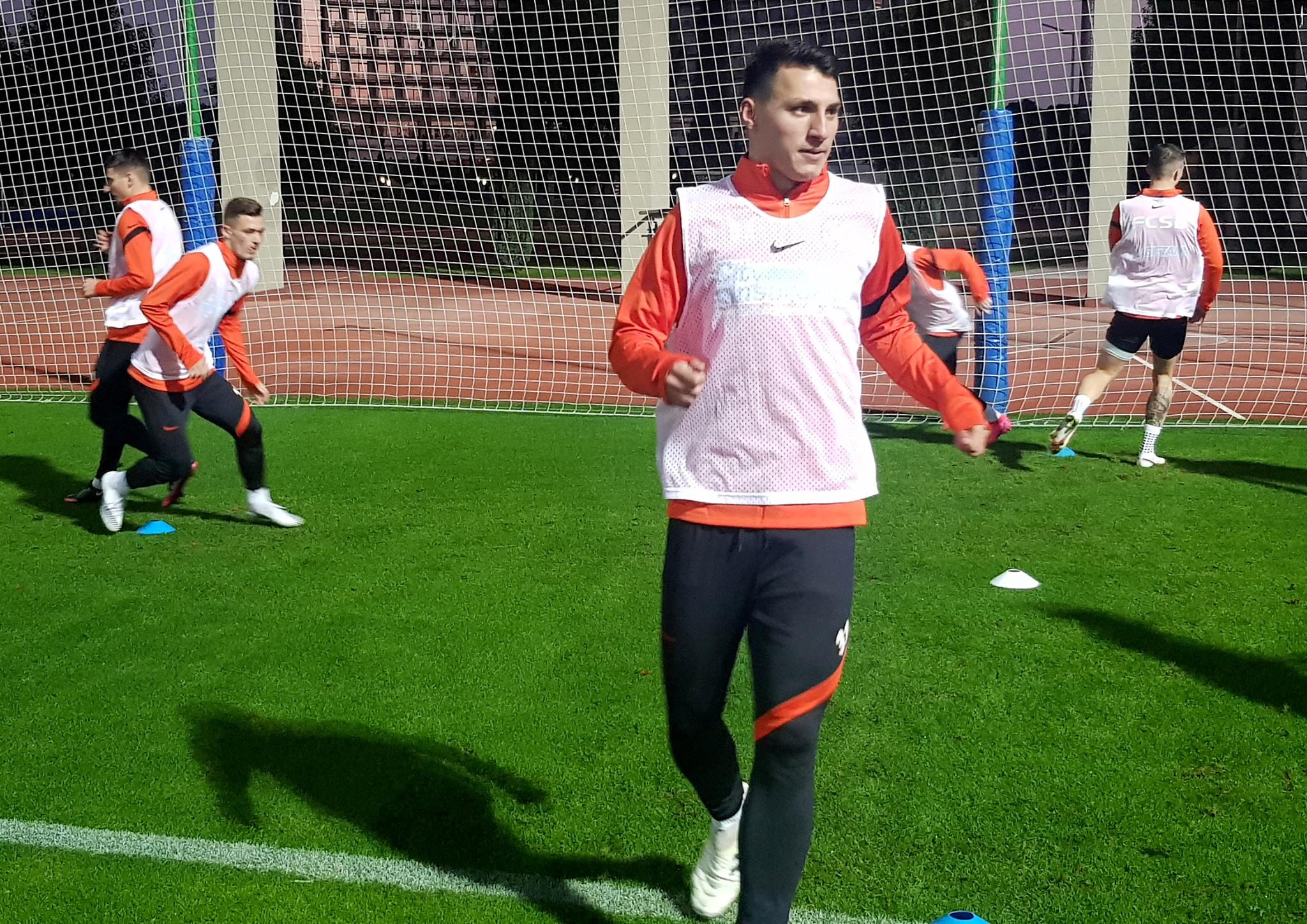 FCSB antrenament Radunovic