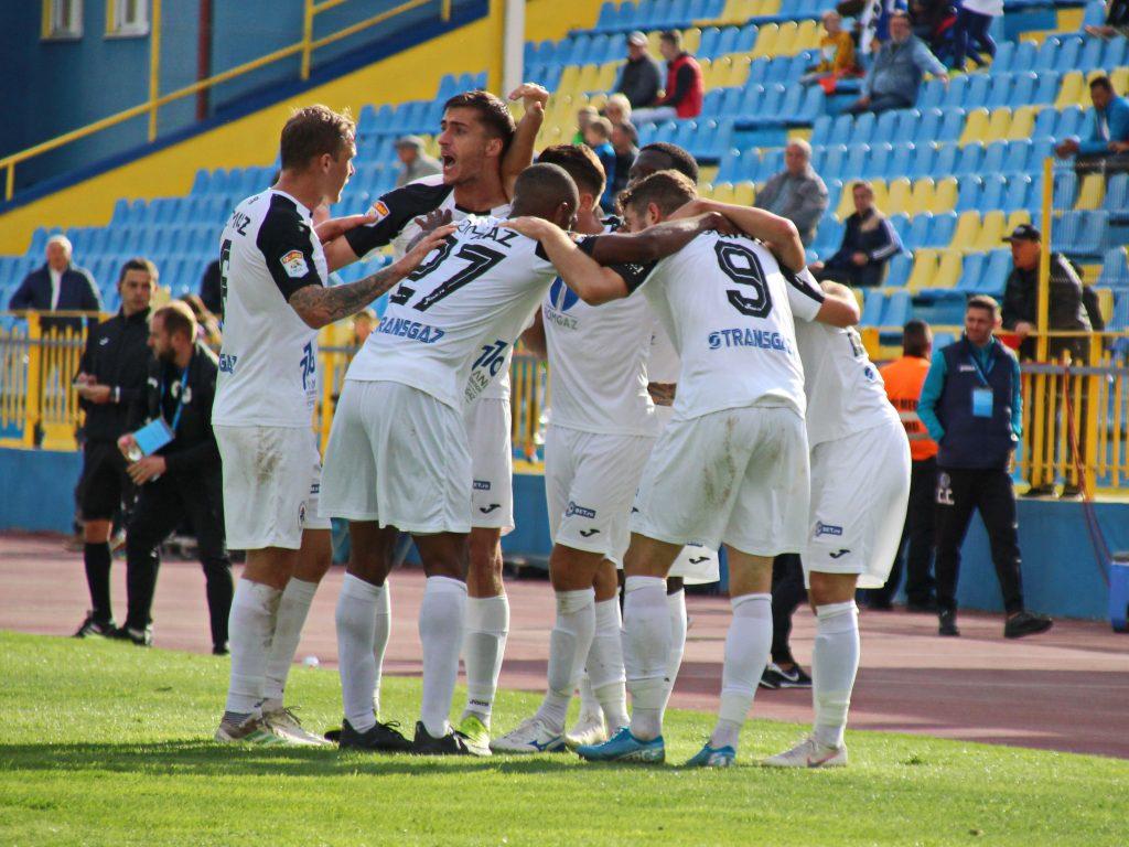 FOTBAL:GAZ METAN MEDIAS-AFC ACADEMICA CLINCENI, LIGA 1 CASA PARIURILOR (4.10.2019)