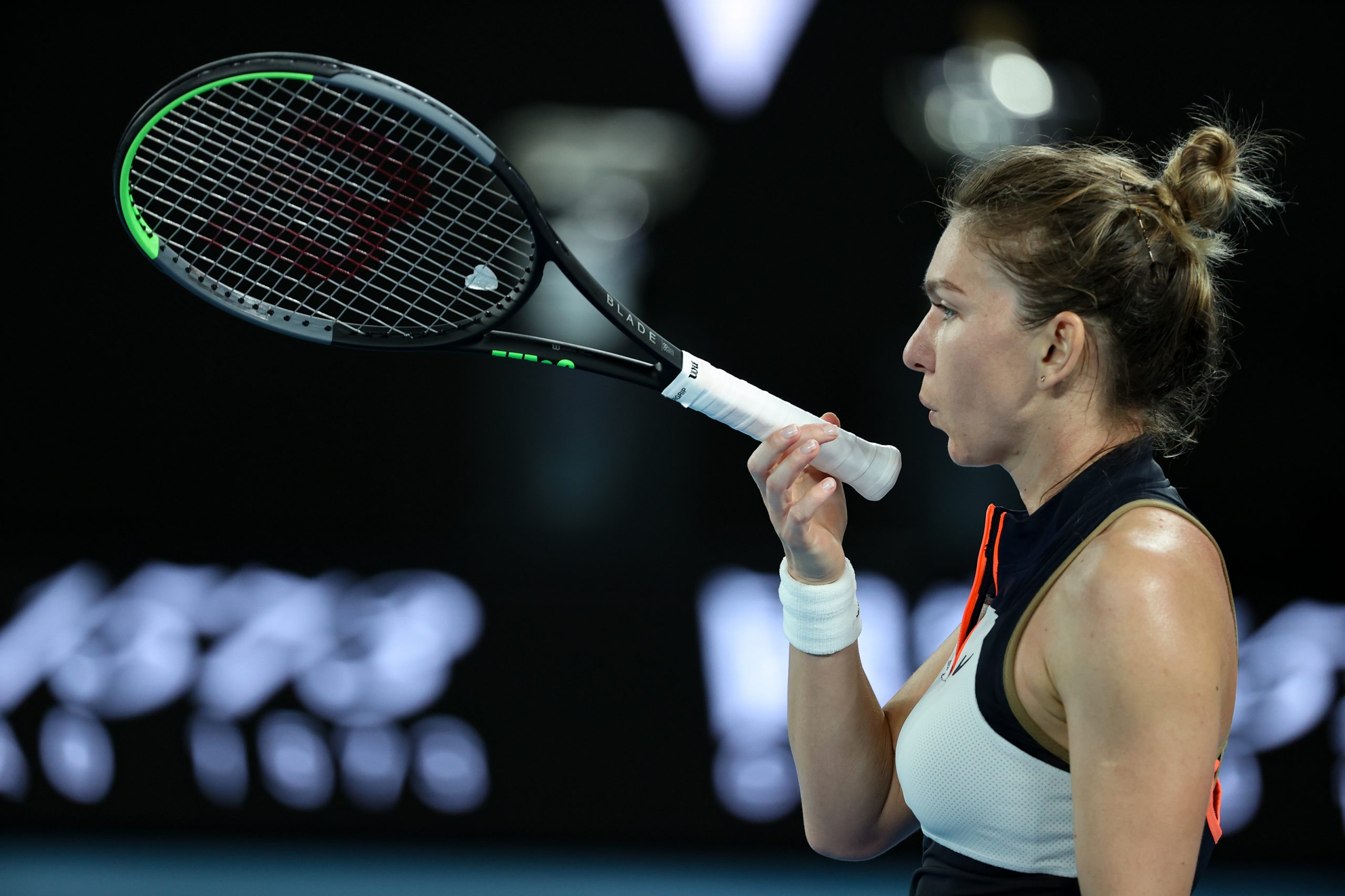 Simona Halep Serena Williams Australian Open scaled