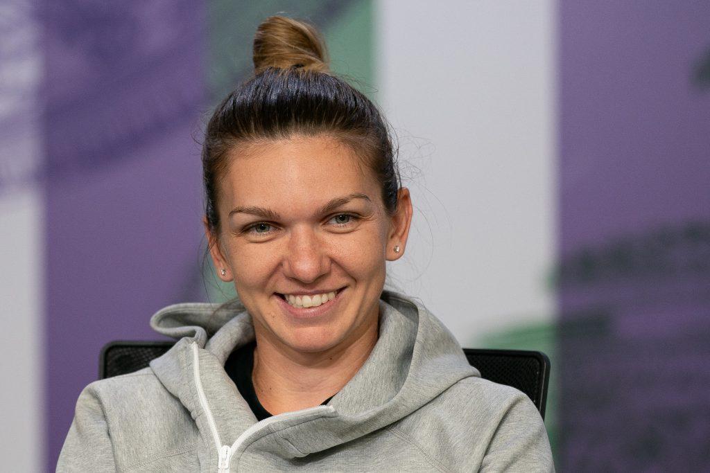 Simona Halep, conferinta de presa, fericita