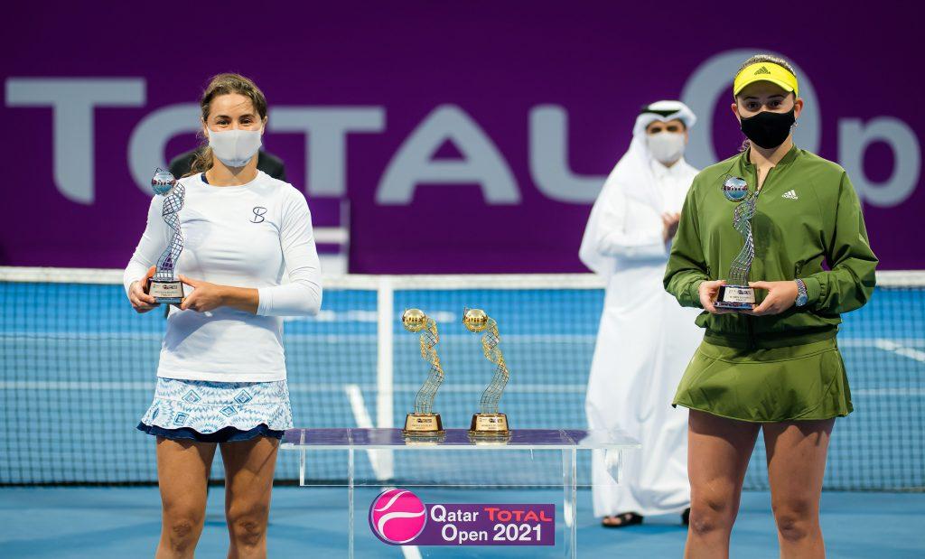 ATP Qatar Total Open 2021, Tennis, Khalifa International Tennis and Squash Complex, Doha, Qatar – 05 Mar 2021