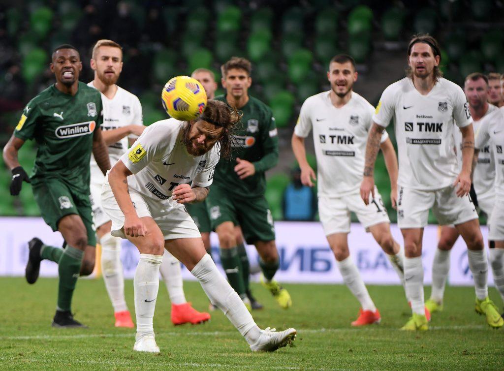 Russian Football Premier League: FC Krasnodar 2 – 2 Ural Yekaterinburg
