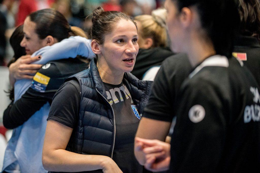 March 3, 2017: Cristina Varzaru of CSM Bucharest during the Woman's European Handball Federation (EHF) Champions League game between  CSM Bucharest (ROU) vs RK Krim Mercator (SLO) at Polyvalent Hall in Bucharest, Romania ROU. Photo: Cronos/Catalin Soare