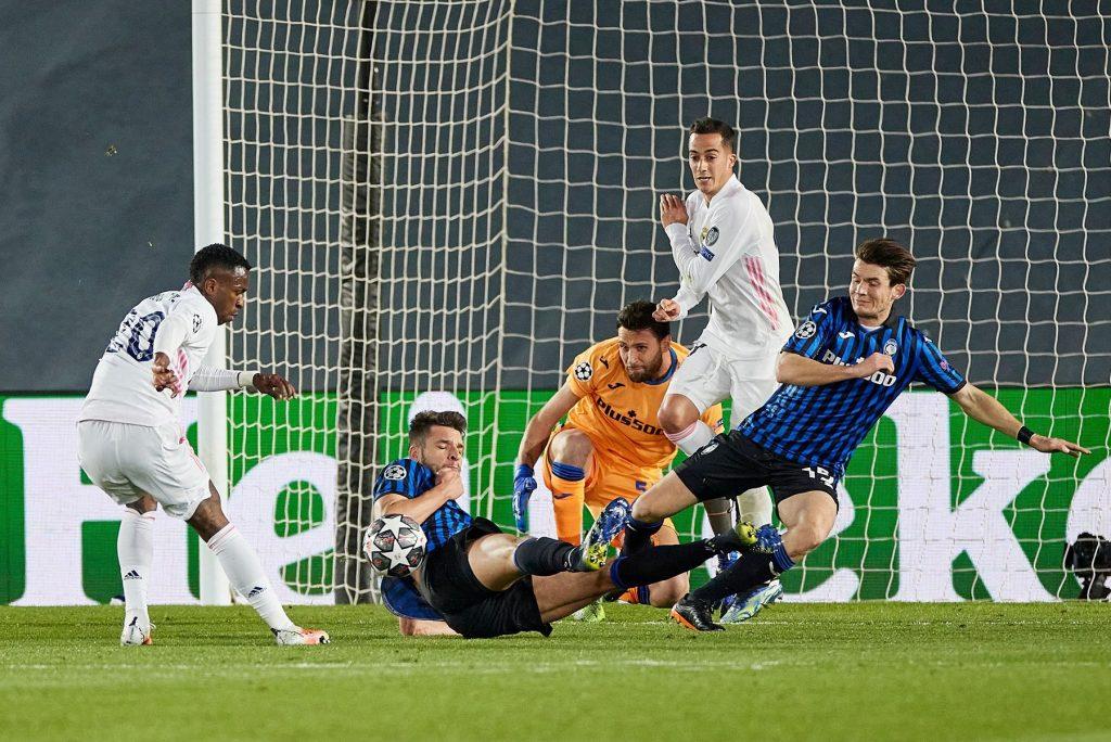 Real Madrid v Atalanta, UEFA Champions League, round of 16, second leg. Football, Alfredo Di Stefano Stadium, Madrid, Spain – 16 MAR 2021