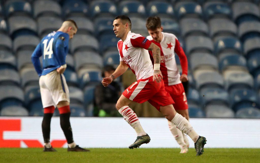 Rangers v Slavia Prague – UEFA Europa League – Round of Sixteen – Second Leg – Ibrox Stadium