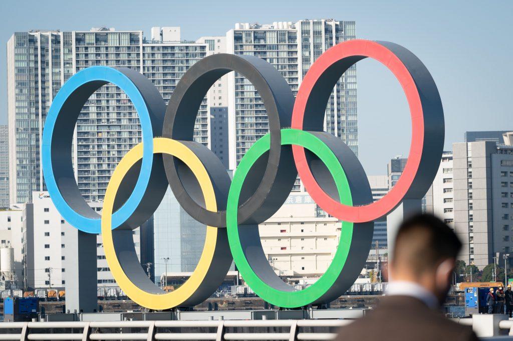 JPN : OLYMPICS TOKYO RINGS RETURN, sursa Foto: Profimedia Images (Credit:PIERRE EMMANUEL DELETREE /SIPA)