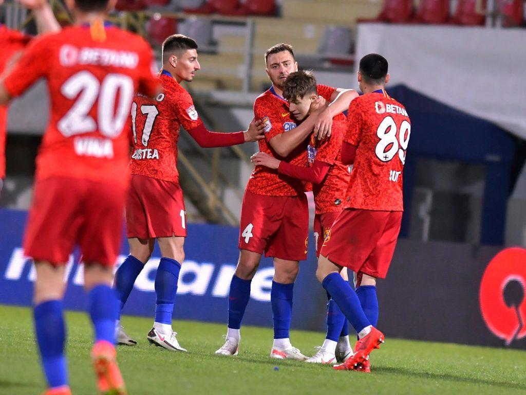FCSB Octavian Popescu Miron bucurie