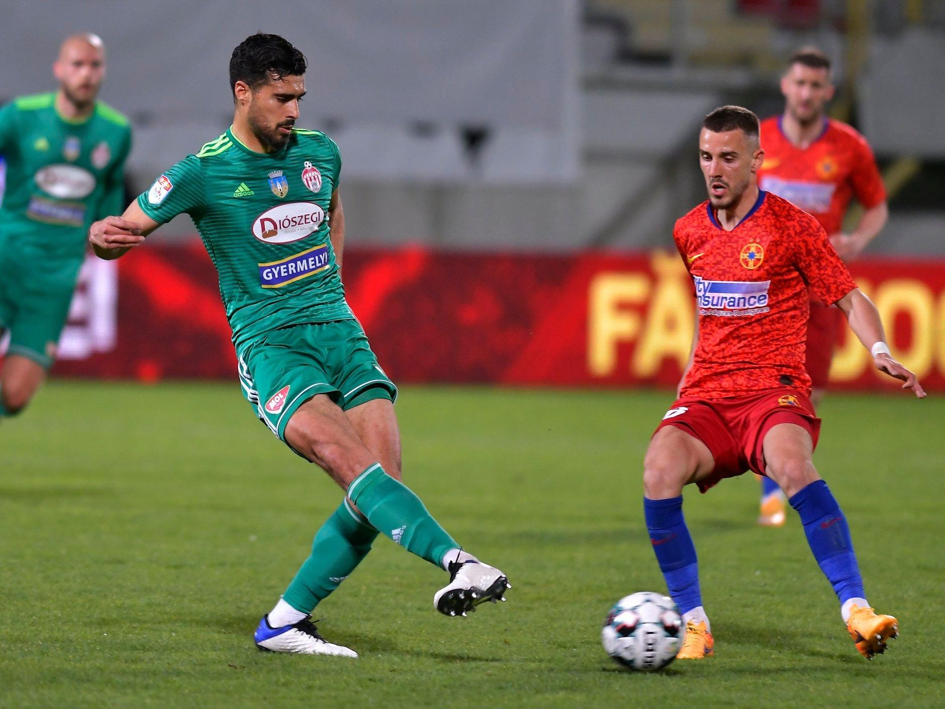 VIDEO   FCSB a obținut o remiză în prelungiri, cu Sepsi. CFR Cluj, aproape campioană