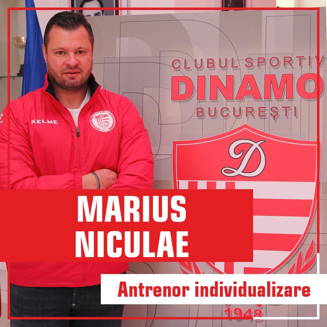 Marius Niculae Academie Dinamo