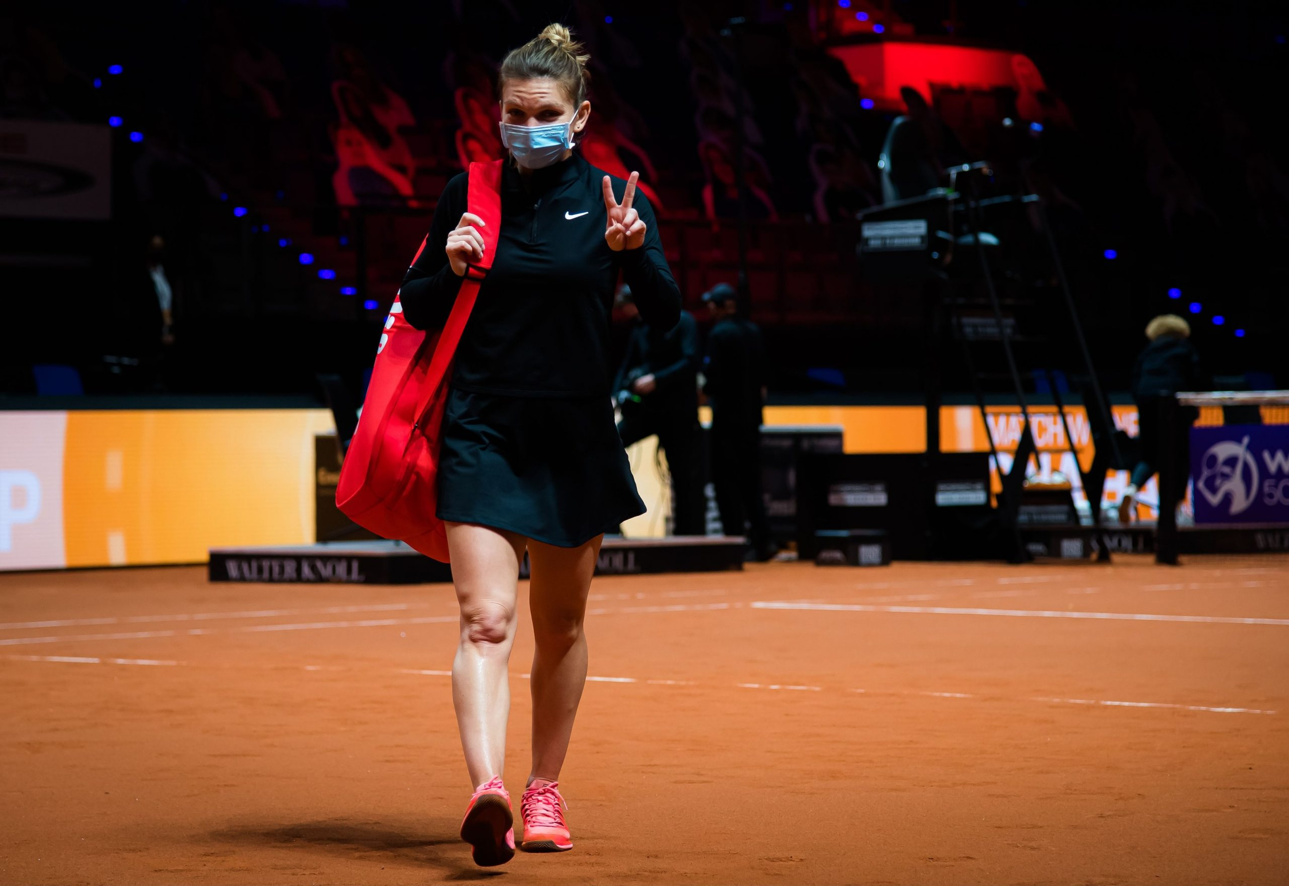 """Prestaţia de excepţie a Simonei Halep, remarcată de WTA: ,,A dominat-o pe adversară pe toată durata partidei"""""""