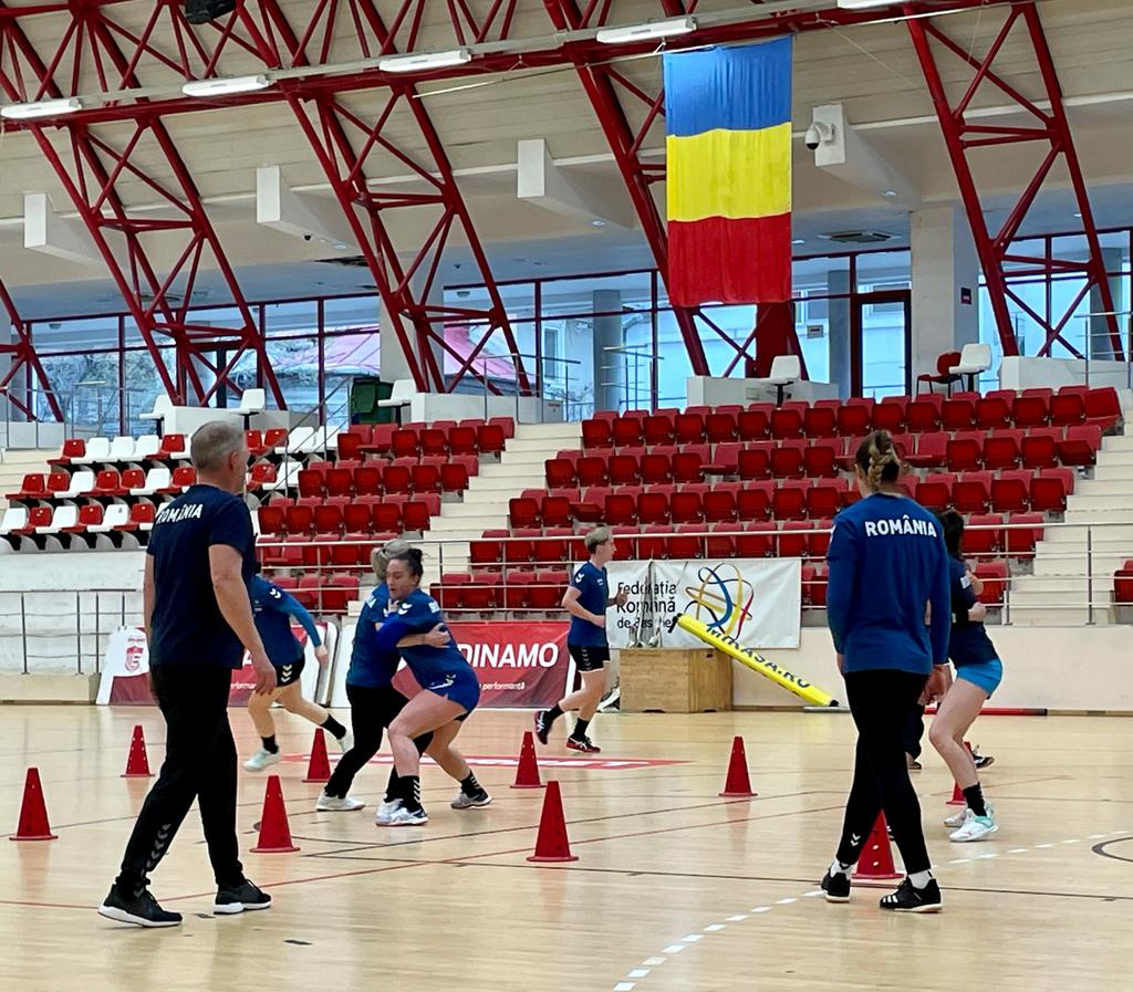 antrenament nationala feminina de handbal a Romaniei 5